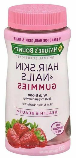Nature's Bounty Optimal Solutions Hair, Skin, Nails, With Bi